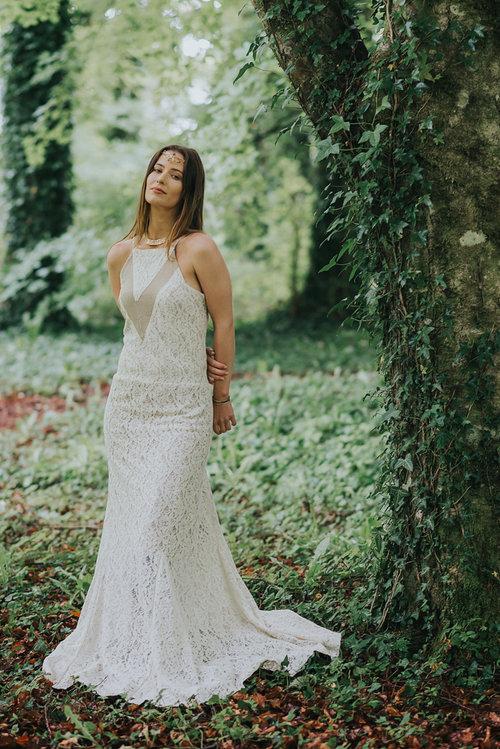 a39c0aa97769 Bohemian Wedding Dress — Free Spirited Celtic design