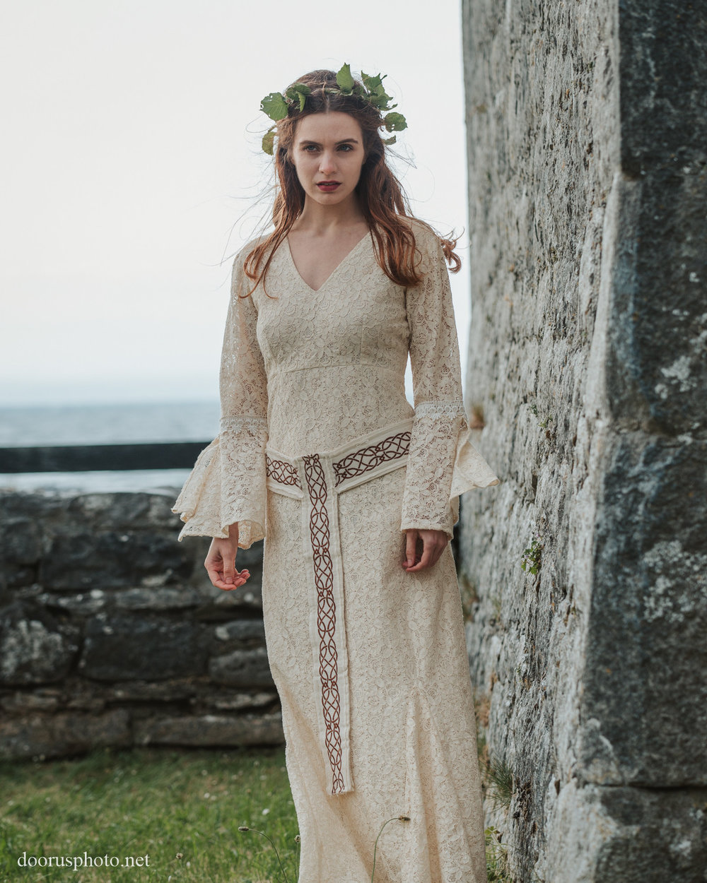 Celtic Handfasting Wedding Dress — Free Spirited Celtic design