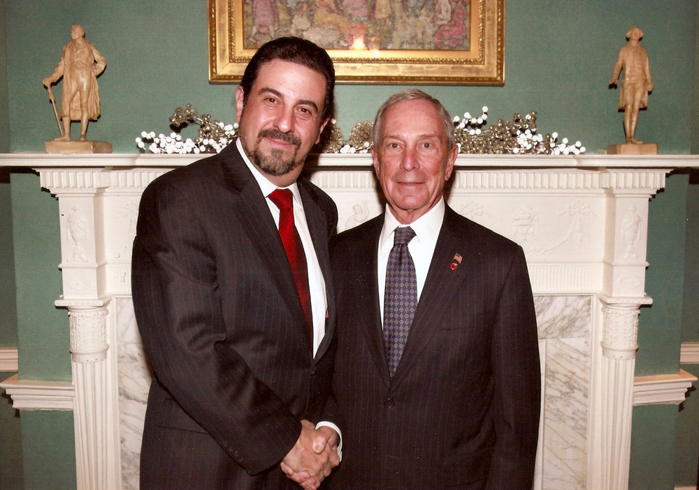 With NYC Mayor Michael Bloomberg
