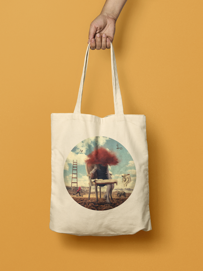 TOTE BAGS - Tote bags which will stand the test of time, no matter what you throw in it, from books, laptops, just don't spill ice cream on it.