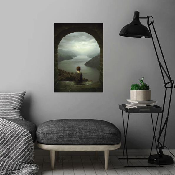 METAL PRINTS - Displate.com collaborated with me. This company offers amazing metal prints! They also feel responsible for our surroundings and want to make a positive impact on the world and aside from that they try to make your walls unique – and at the global level – by reducing the ecological footprint.
