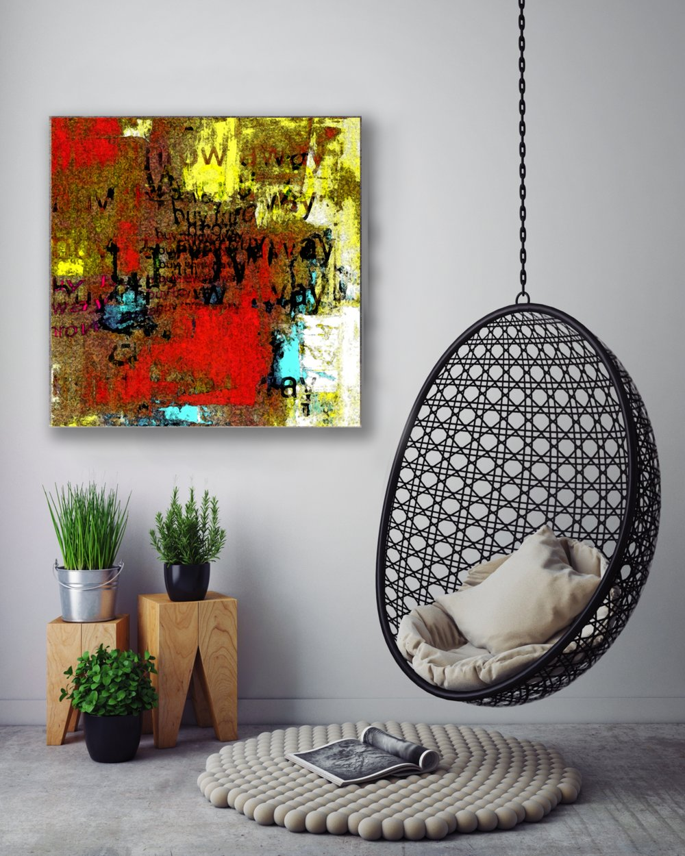 Featured in Creative Space: Buy Throw Away Buy