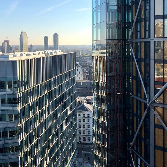 A crisp clear London day