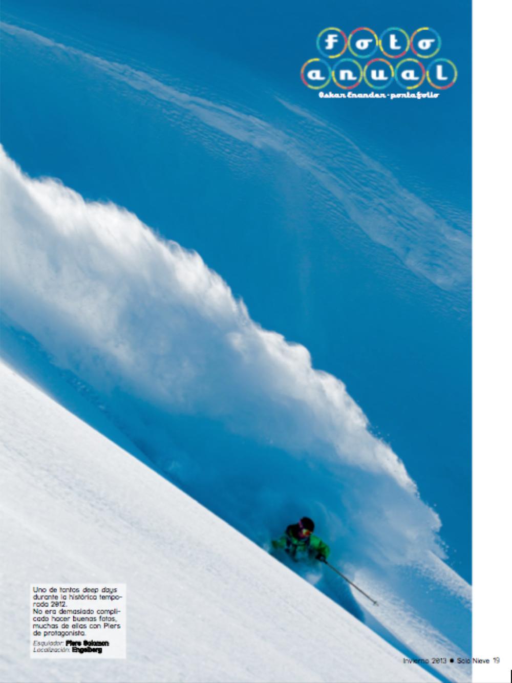 """""""Solo Nieve"""" Magazine (ESP)"""