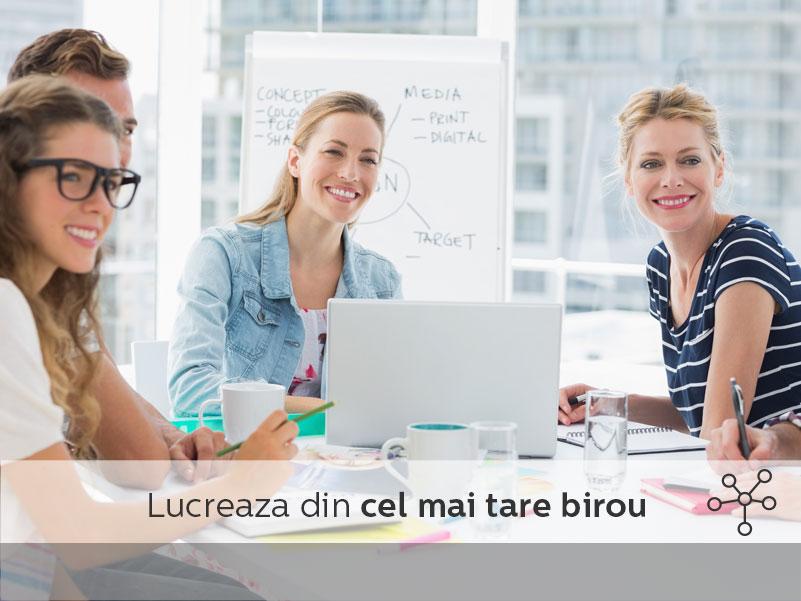 Spatiile de co-working sunt create pentru munca online, fara stres, de acasa - dar nu chiar din casa.