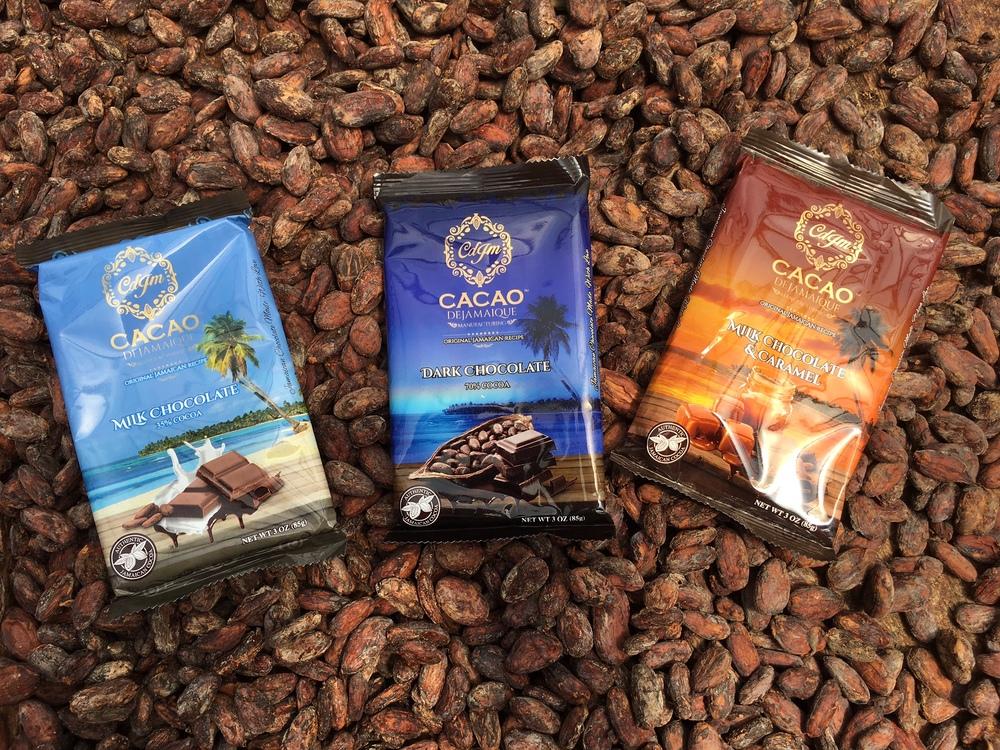 CDJM Chocolate: Milk, Dark and Milk & Caramel Chocolate
