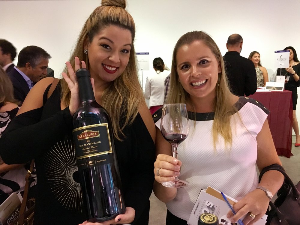 Me with ALESSANDRA  at a wine tasting event