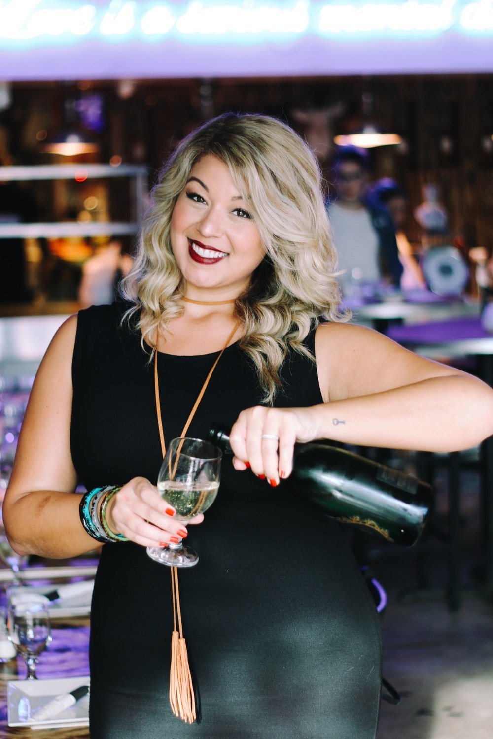 Your host: Natalie Leon, wine with nat