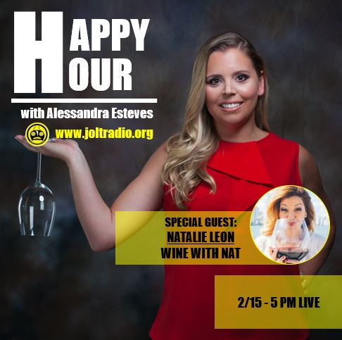 Happy Hour with Alessandra Esteves Jolt Radio