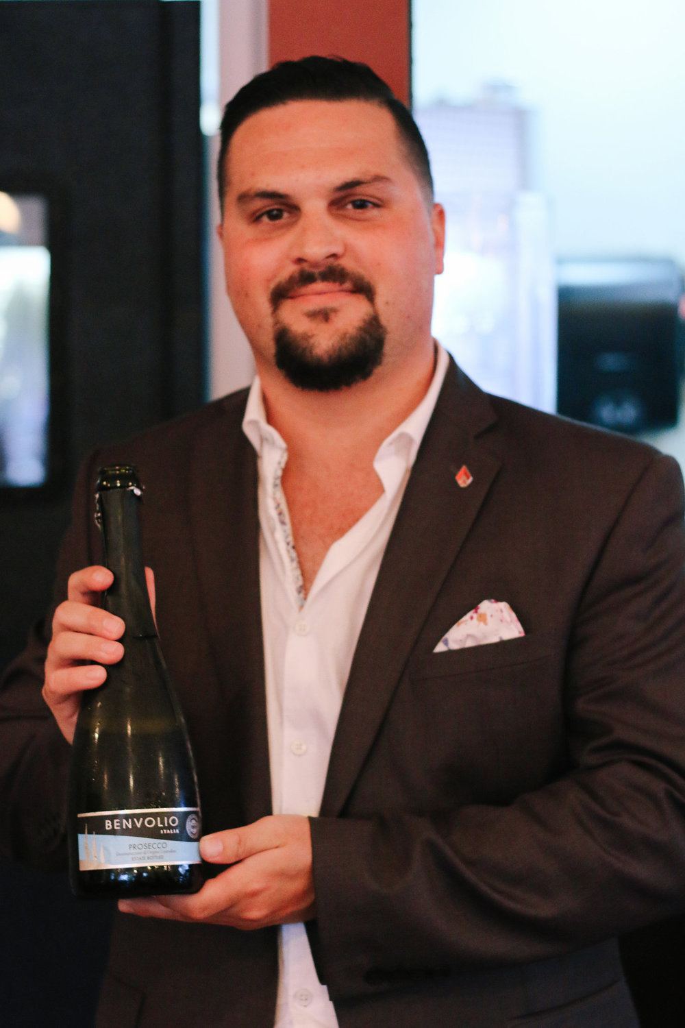 Pablo Suarez with The Wine Maverick
