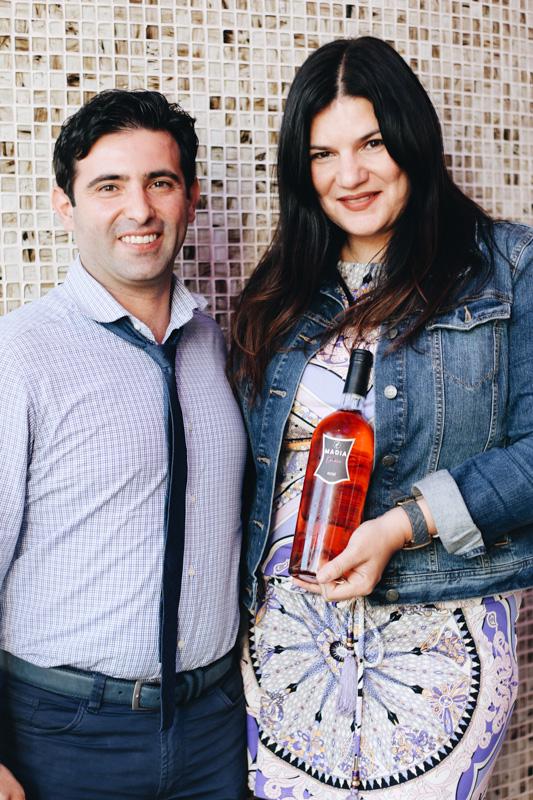 The MADIA winemakers:Nicola Colelli and Tina Ippolito