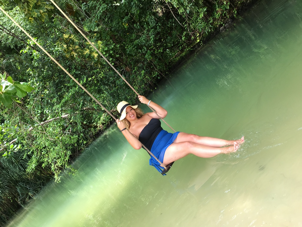 Swinging over the River
