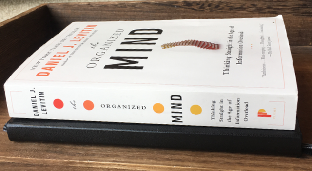 The Organized Mind by Dr. Daniel J. Levitin