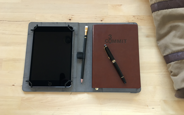 Notebook Folio and Commit30 Notebook
