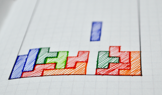 Tetris Drawing