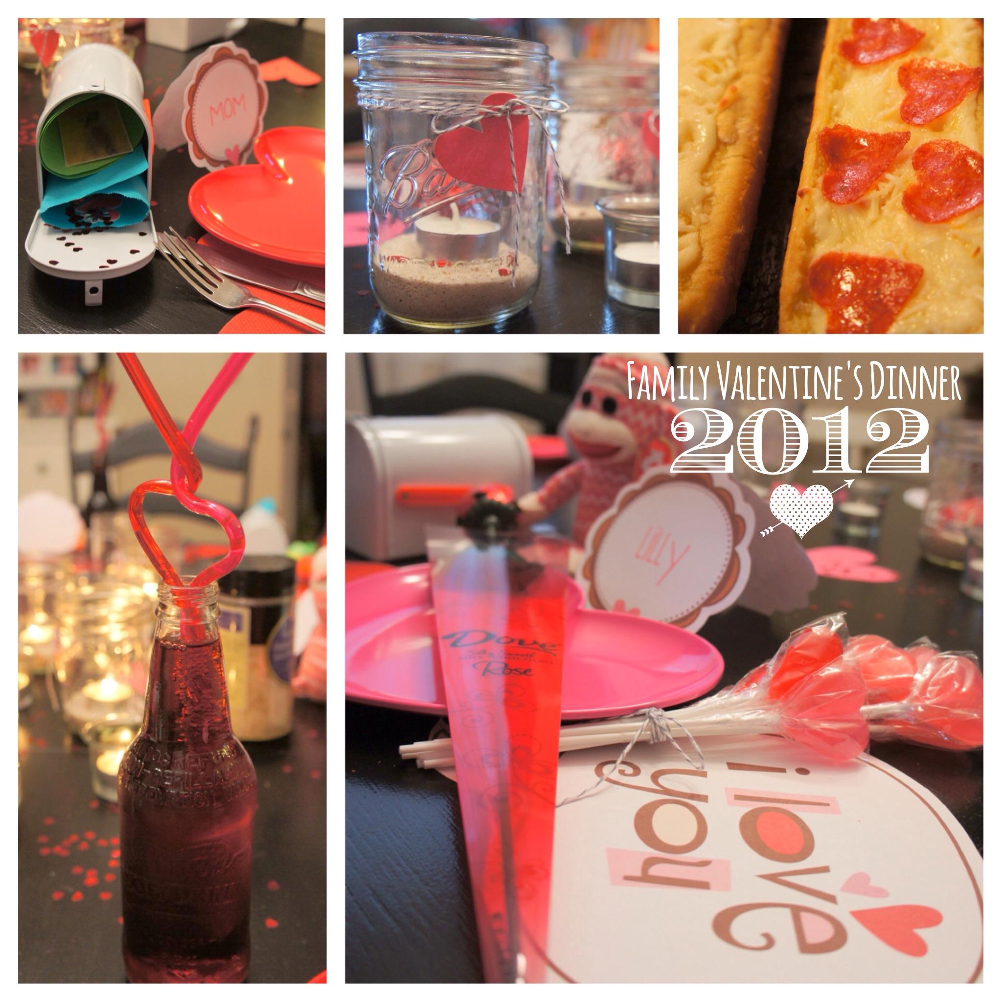 Family Valentine's Dinner 2012