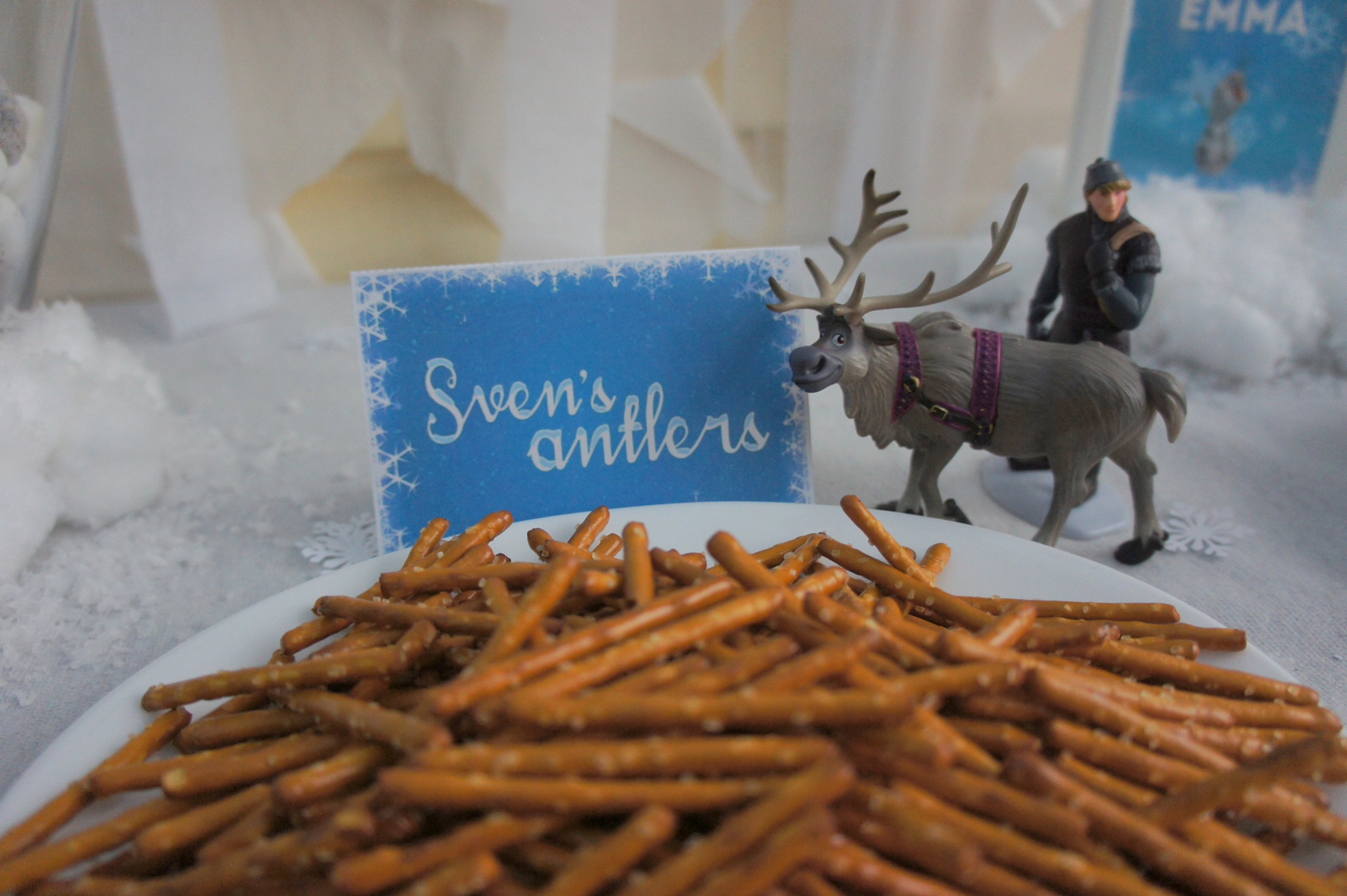 Frozen themed food - Sven's Antlers