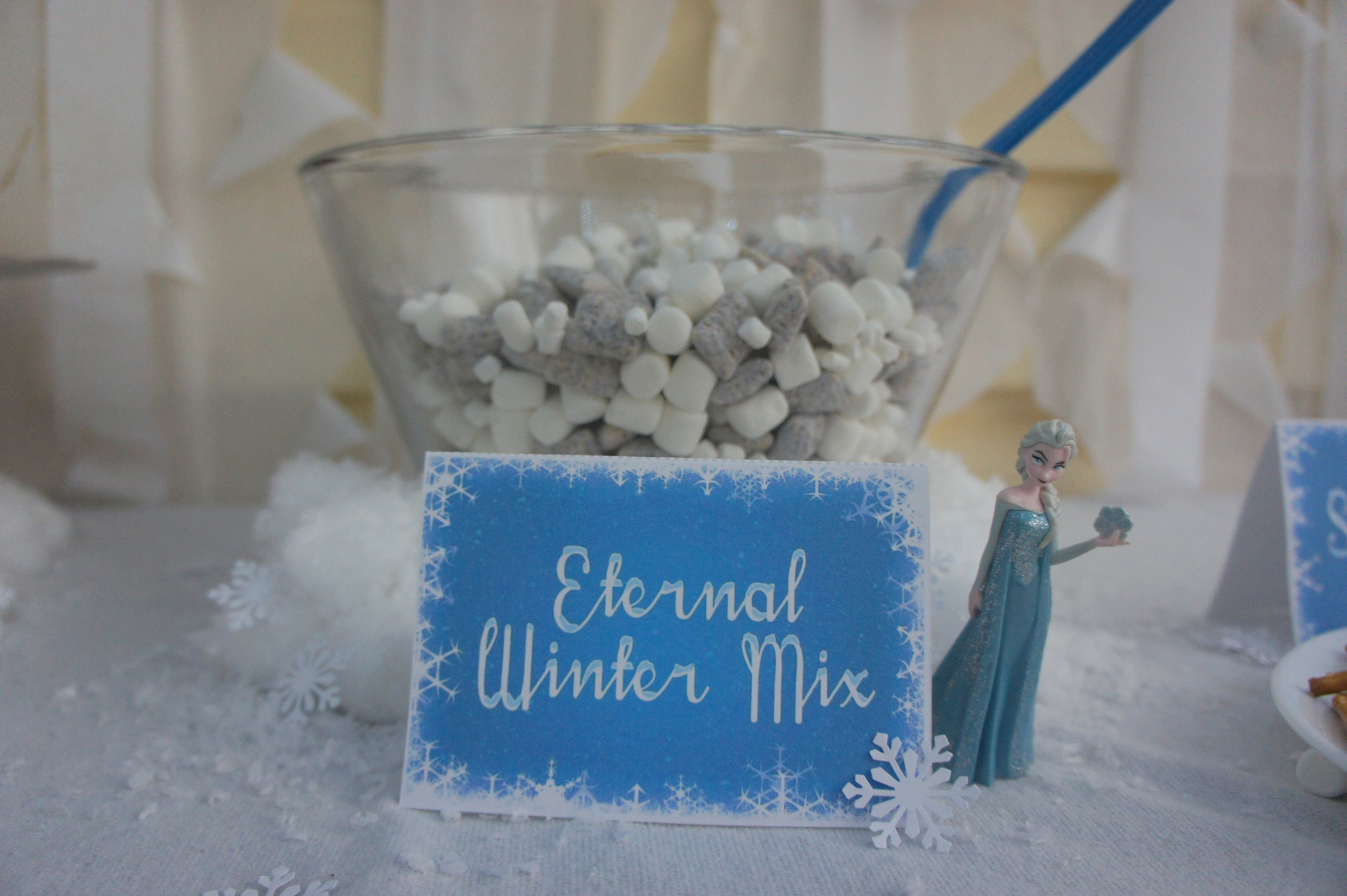 Frozen themed food - Eternal Winter Mix