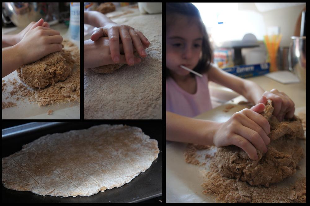 baking unleavened bread