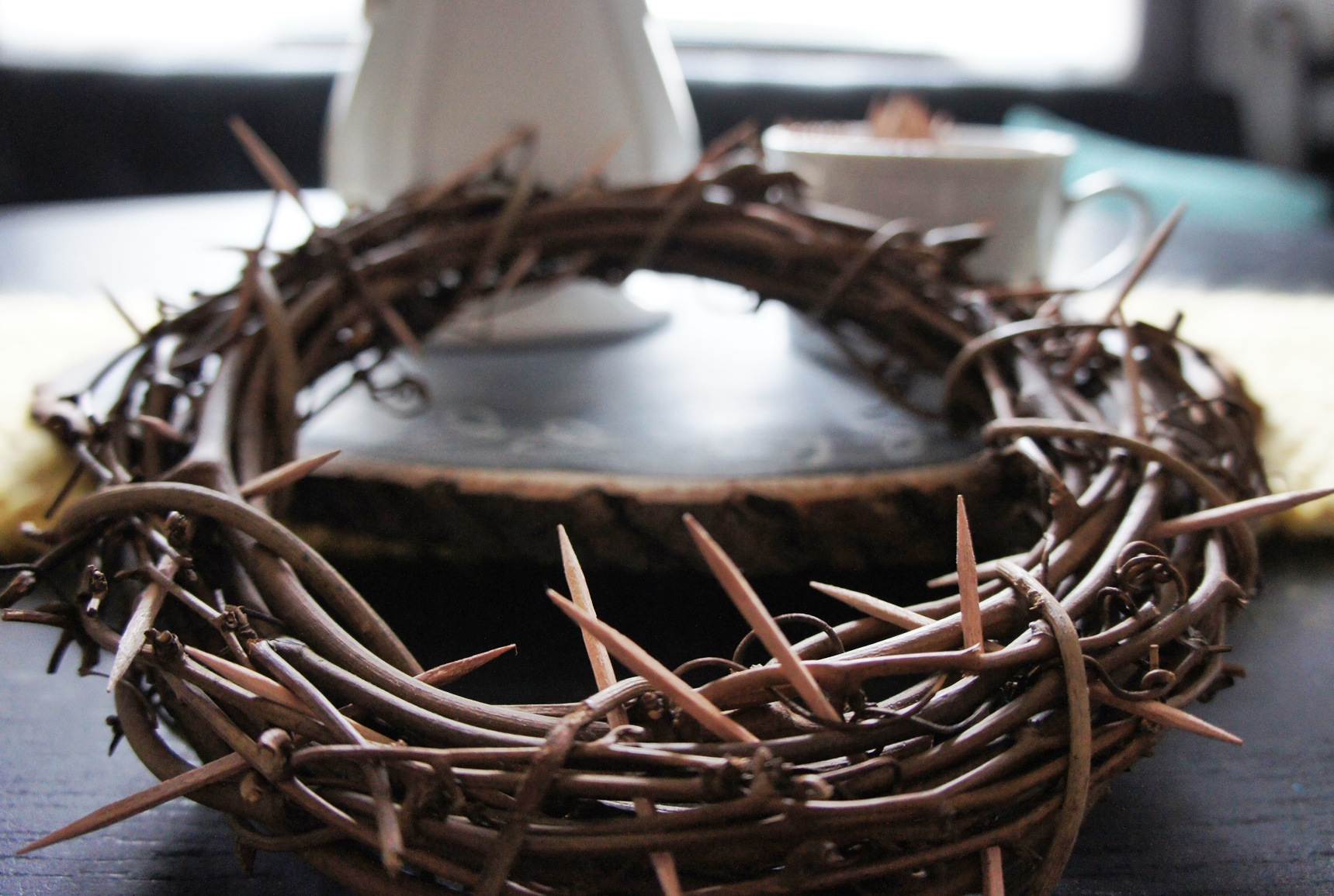 A Crown of Thorns - a family Easter tradition