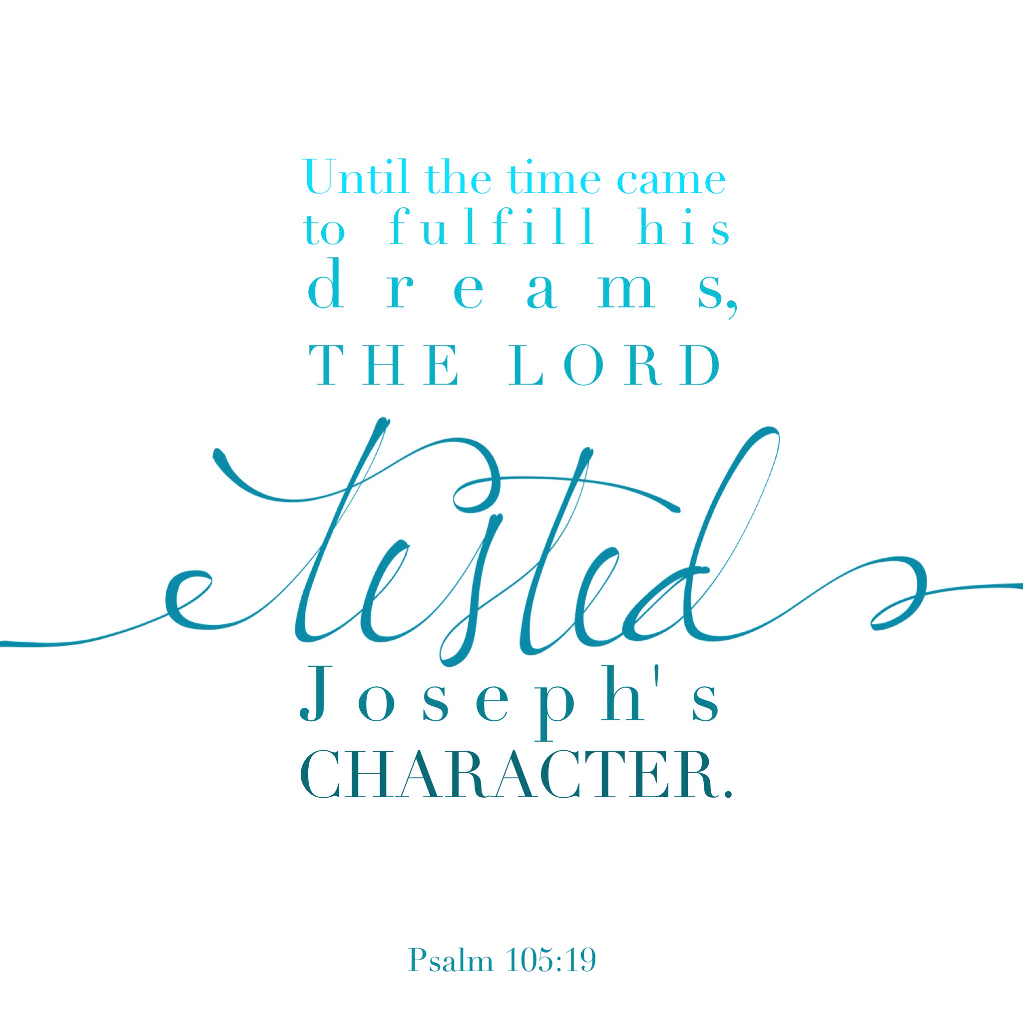 Psalm 105:19
