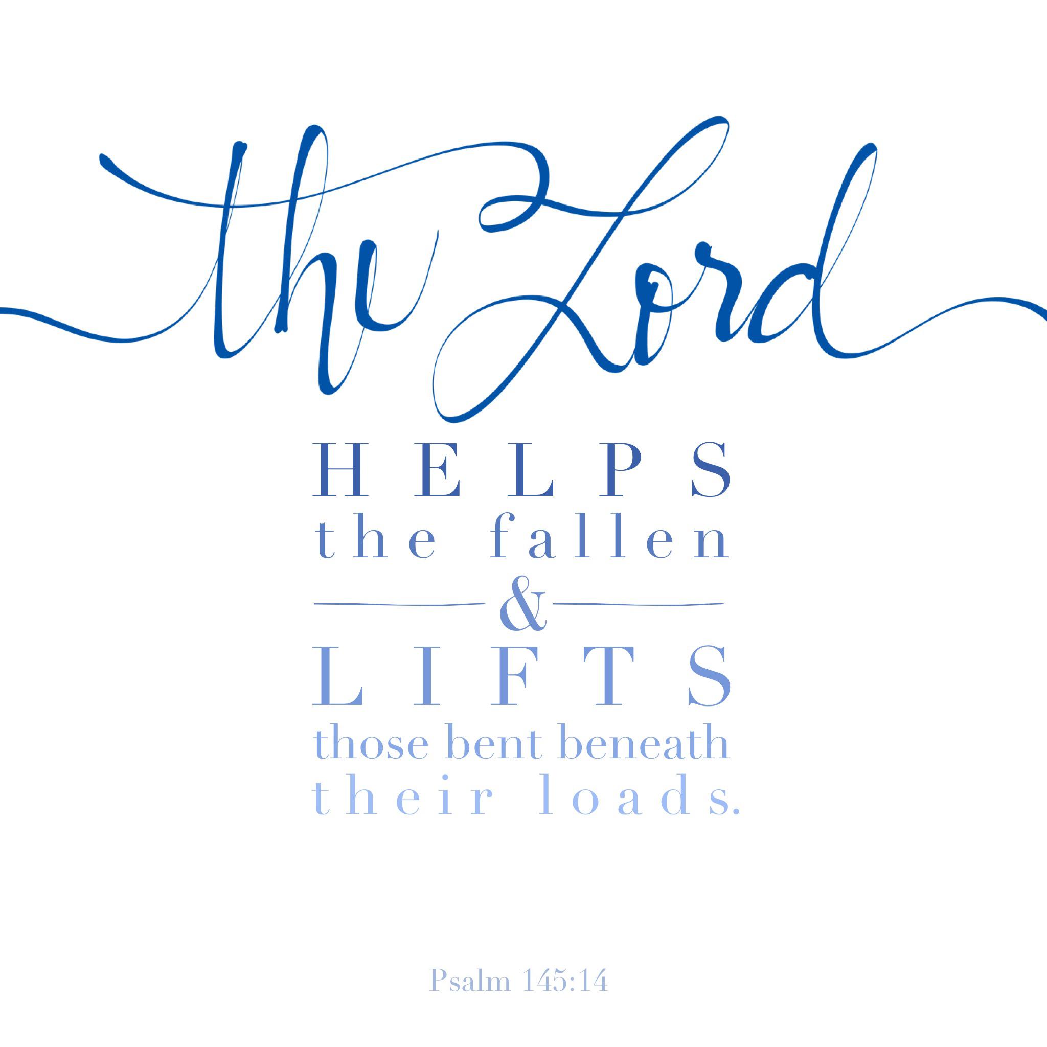 Psalm 145:14