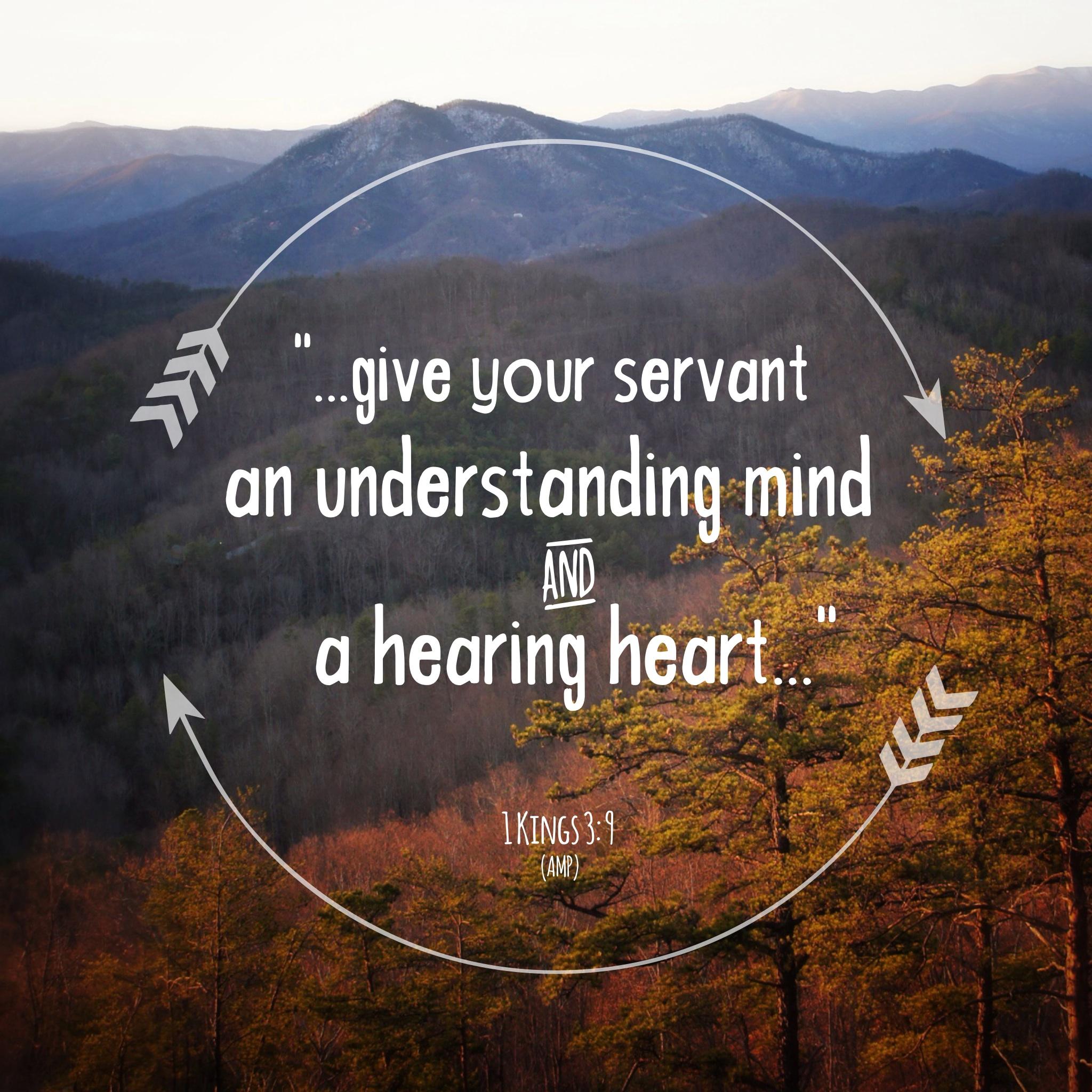 1 Kings 3:9
