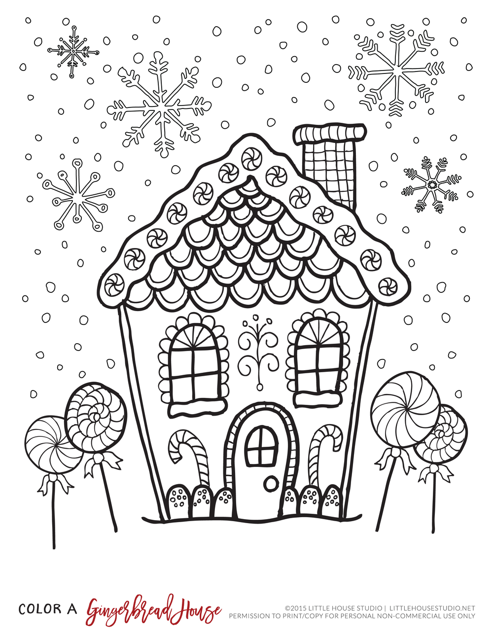 Free Printables || Little House Studio