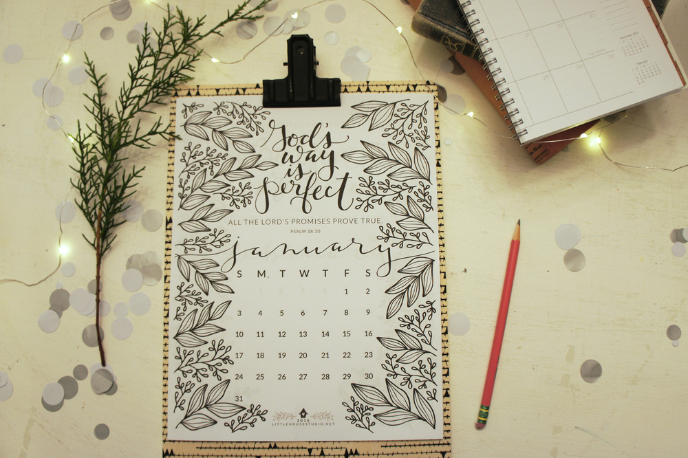 2016 Calendar - Little House Studio
