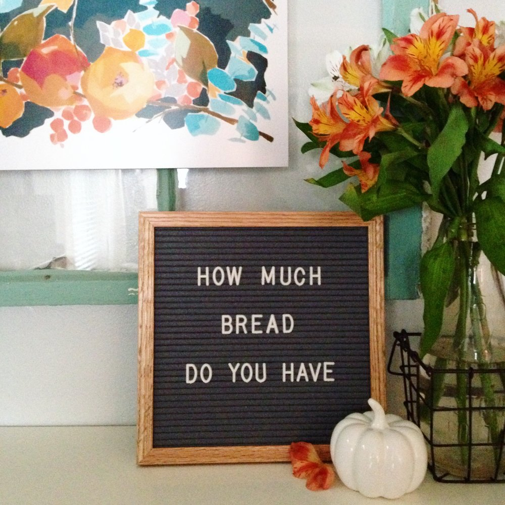 How Much Bread Do You Have? || Little House Studio