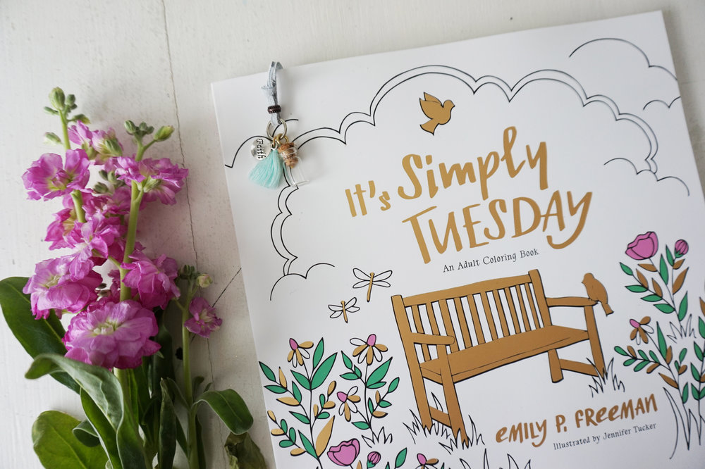 It's Simply Tuesday Coloring Book || Little House Studio