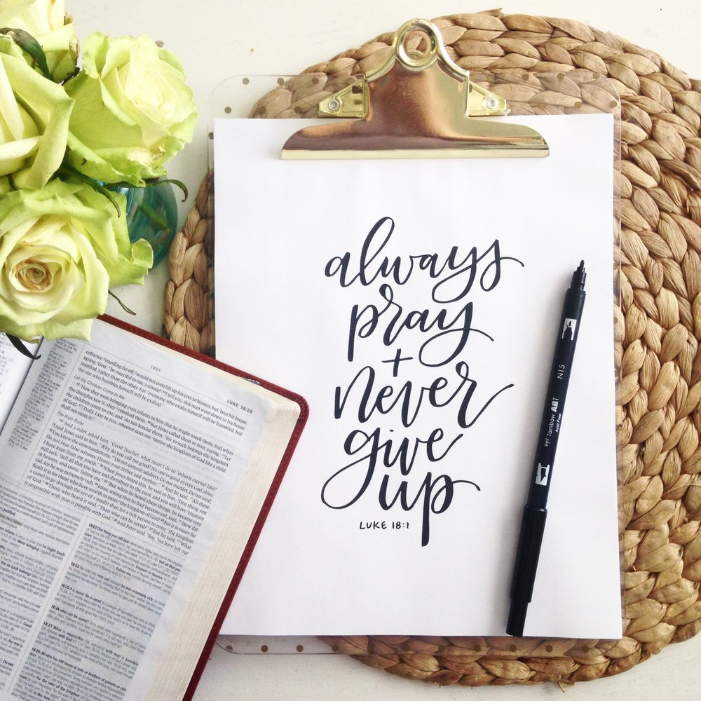 Luke 18:1