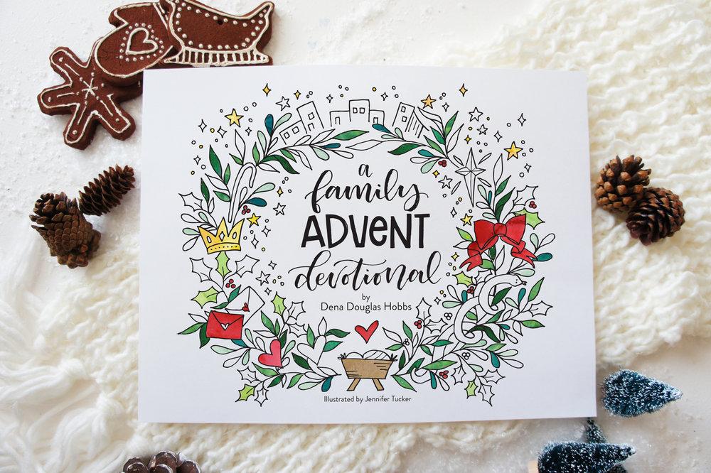 Little House Studio | a Family Advent Devotional
