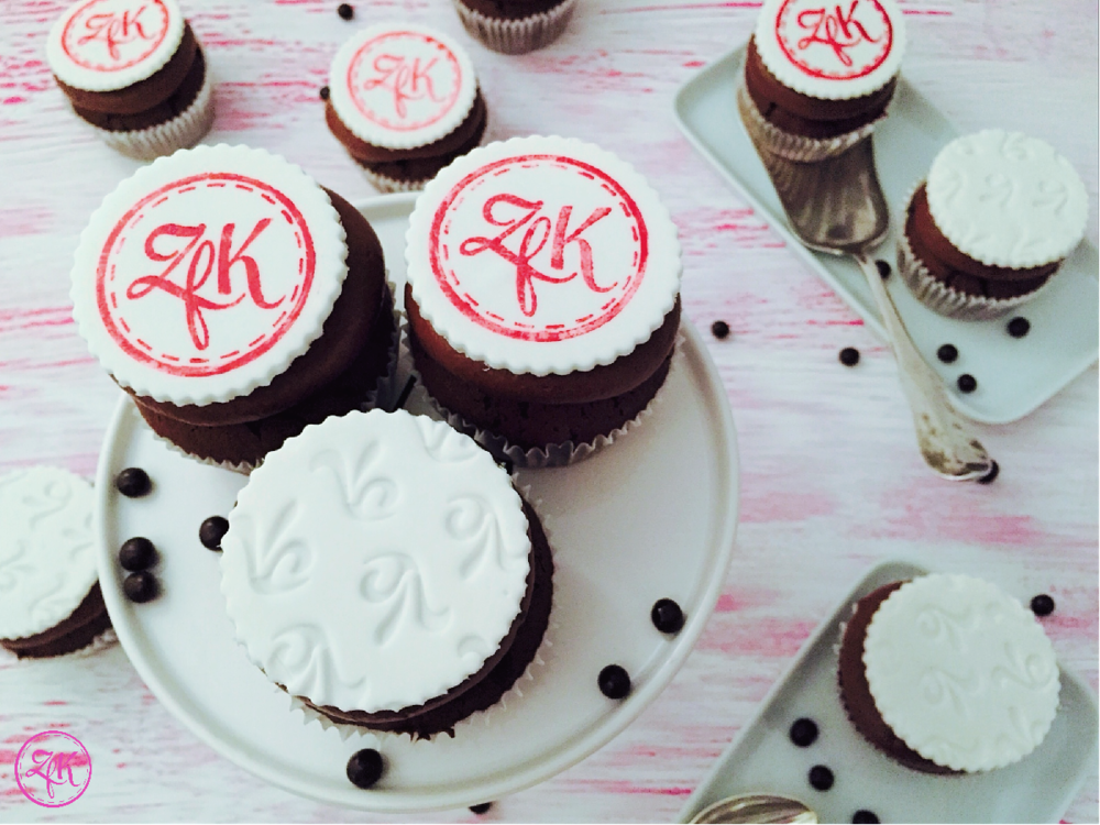 Schokoholic-Cupcakes mit Topper
