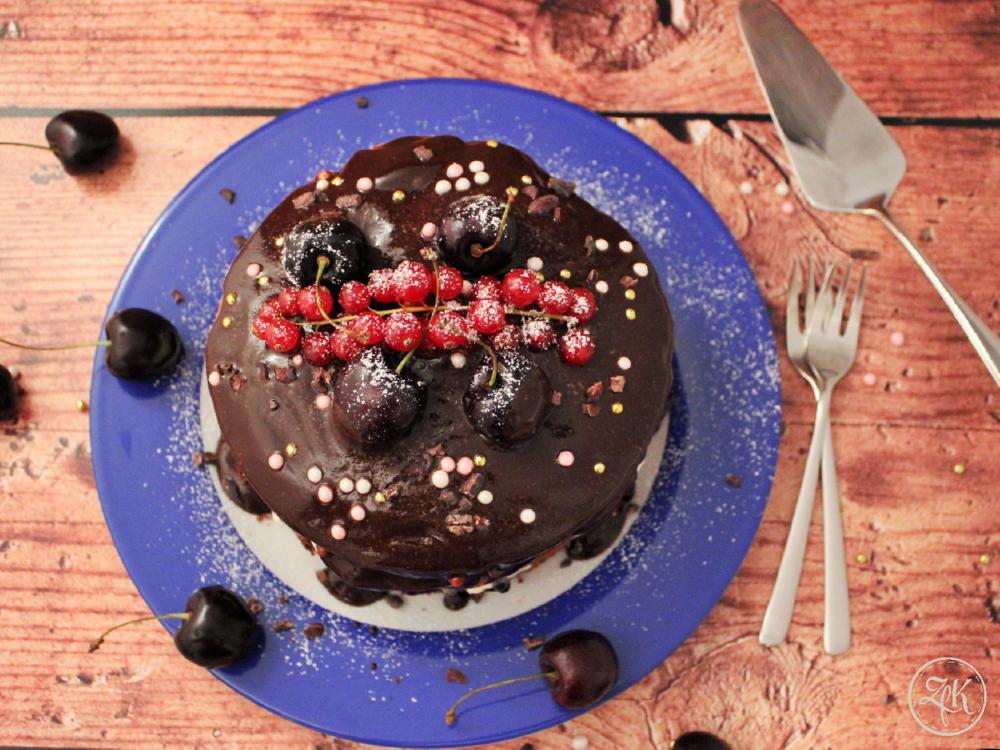 Der erste Naked Cake aus meiner Kuchenwelt