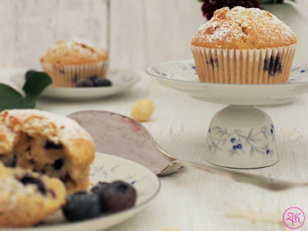 Blaubeer-Kokos-Muffins