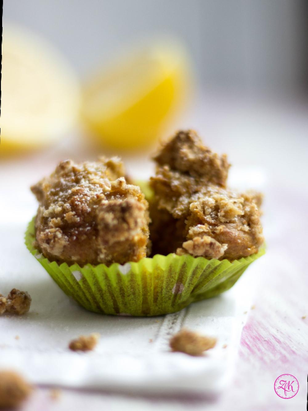 Frisch aus dem Backofen sind die Muffins besonders lecker!