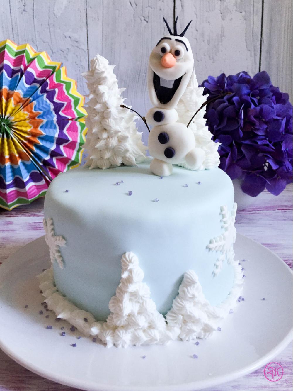 Olaf im Winterwonderland
