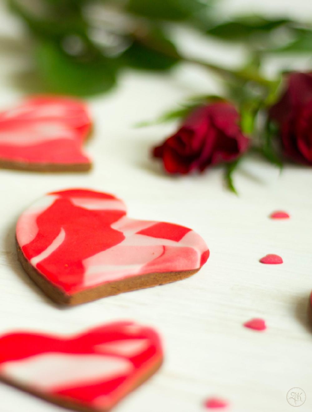 Habt es süß und romantisch