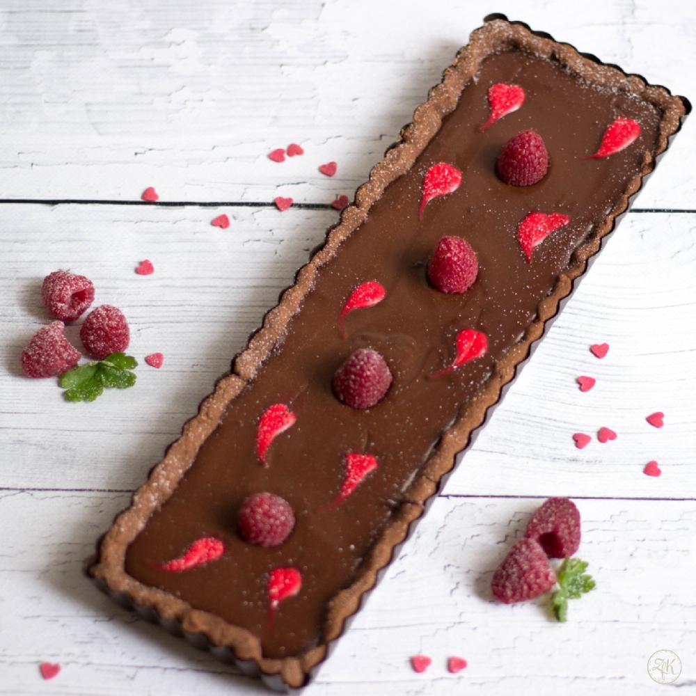 Valentinstarte - Himbeere trifft Schokolade