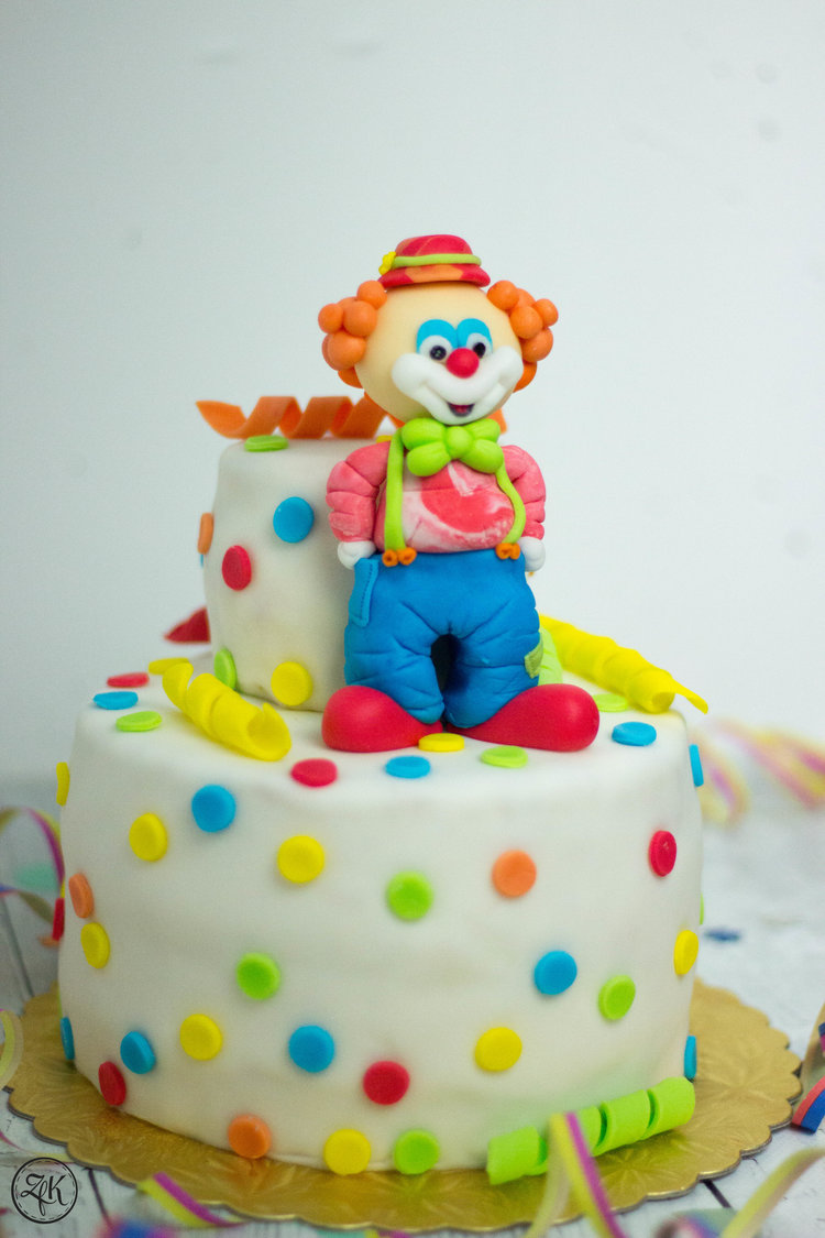 Clown Torte Zeitfurkuchen