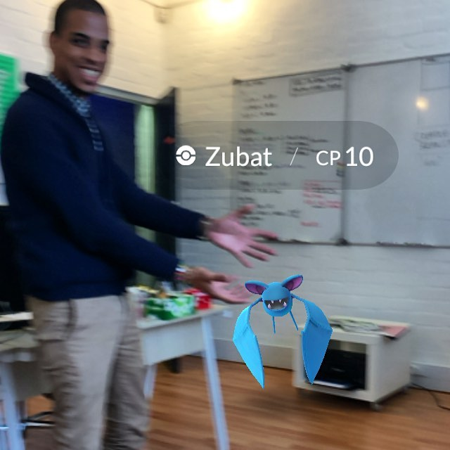 In the office today ... @julian.richardson.za #pokemongo
