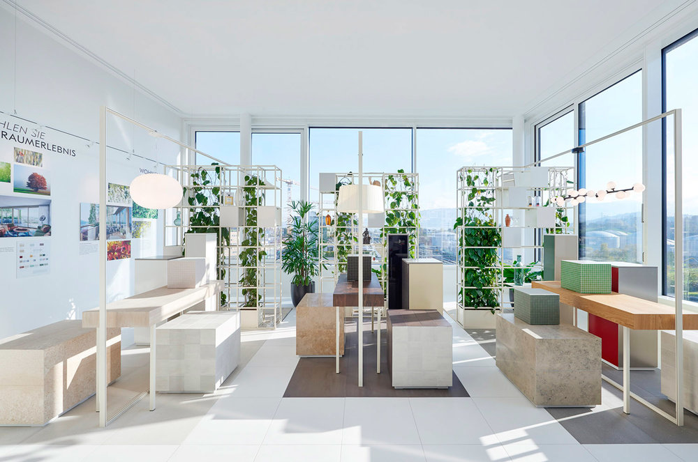 "Showroom, Gartenhochhaus ""Aglaya"", Zug Estates AG"