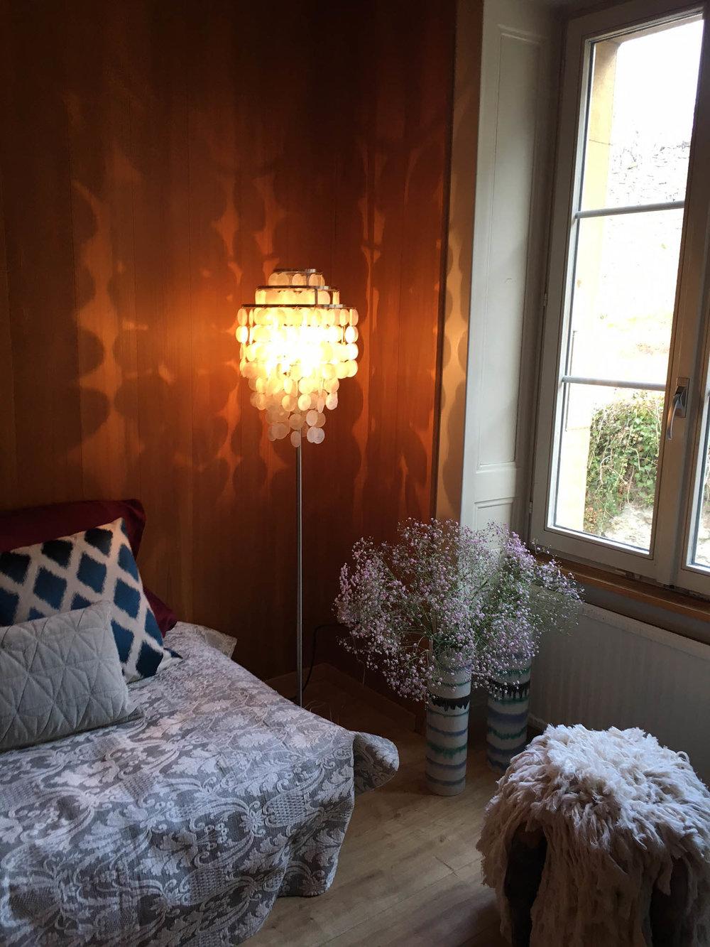 Umgestaltung Privatwohnung, Detail Wohnzimmer, Pfister Swiss Design