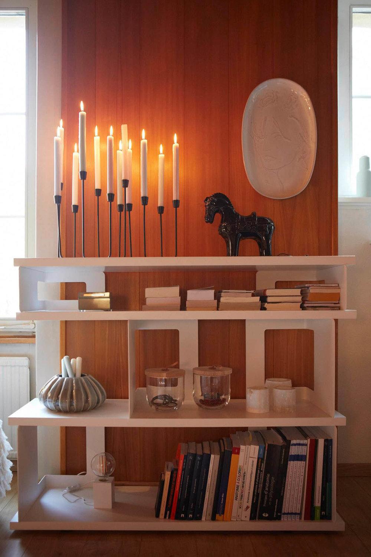 Umgestaltung Privatwohnung, Detail Regal, Pfister Swiss Design