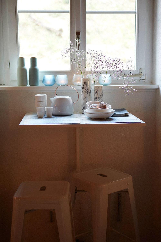 Umgestaltung Privatwohnung, Detail Esstisch, Pfister Swiss Design