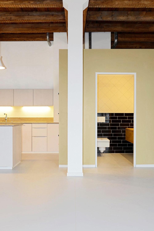 Ausbau, Musterloft, Küche - Bad