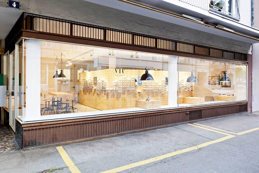 Retail Design, Flagshipstore, Aussenansicht, Zürich