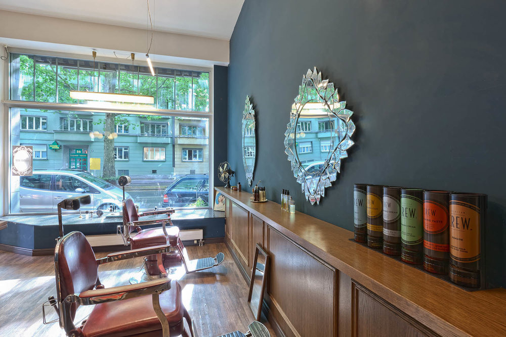 Gestaltung Barber Shop Zürich
