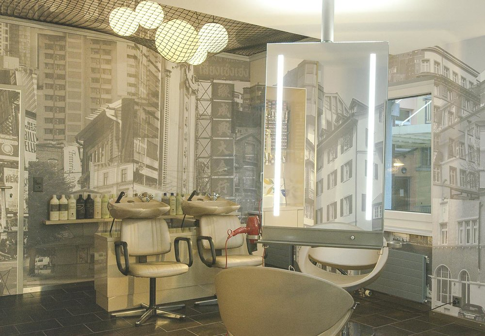 Aveda Colour Room, Detail